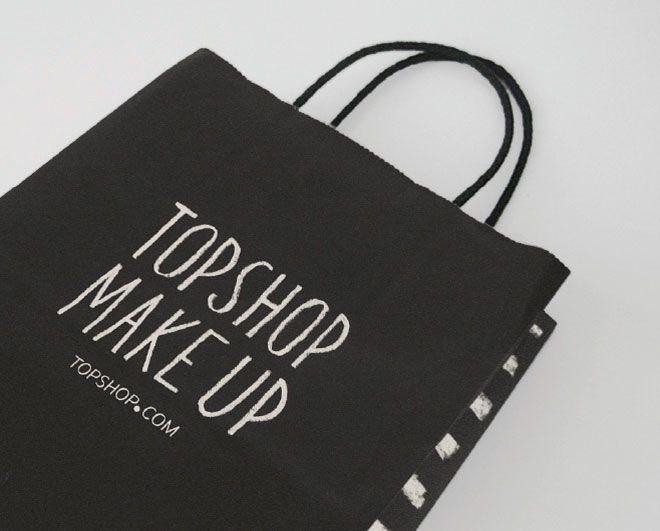 Topshop chalk style type