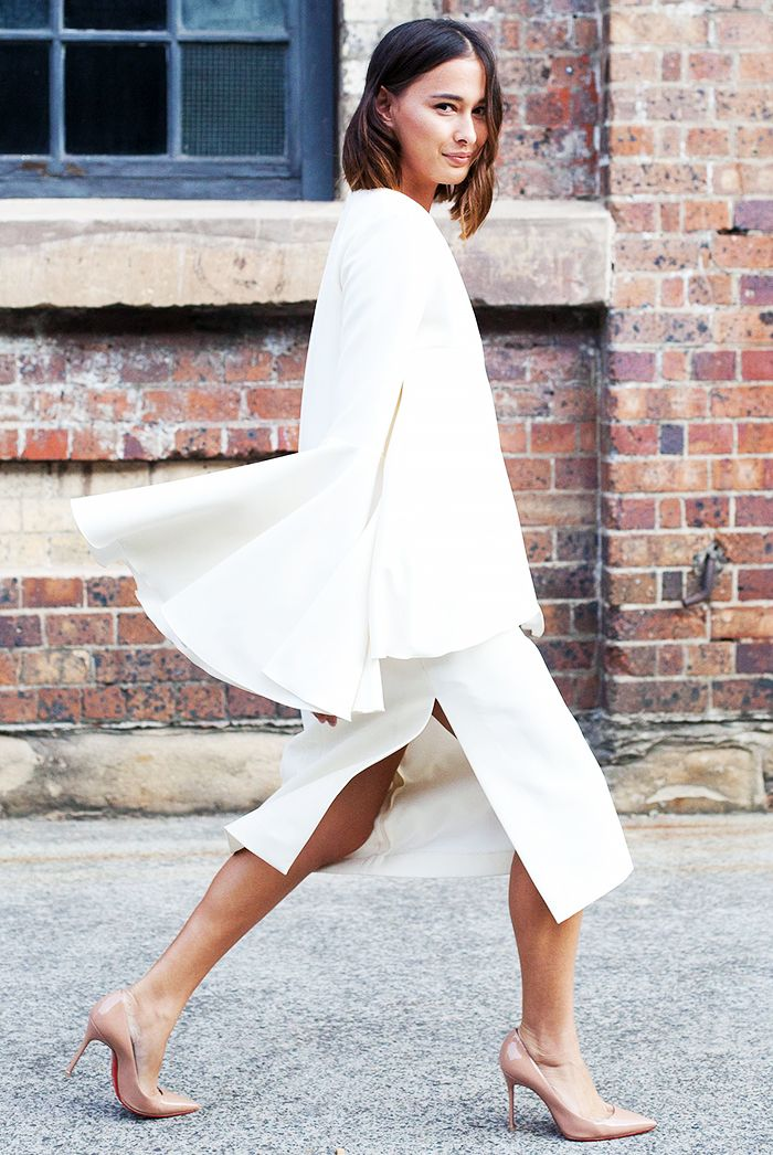The Brand Behind Street Style's Most Popular Ruffles via @WhoWhatWearUK