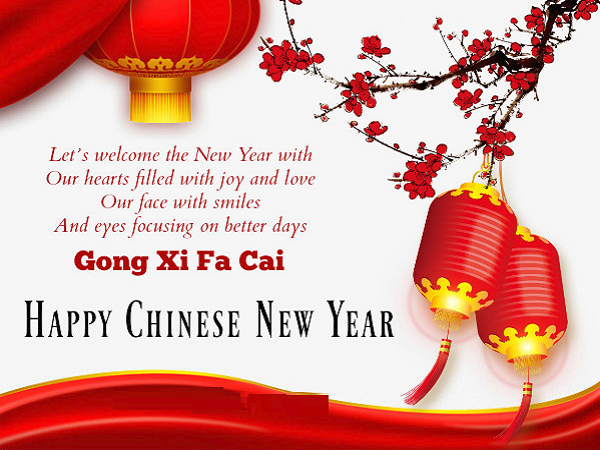Happy Chinese New Year Greetings Messages And Wishes New Year Greeting Messages Chinese New Year Greeting Happy Chinese New Year