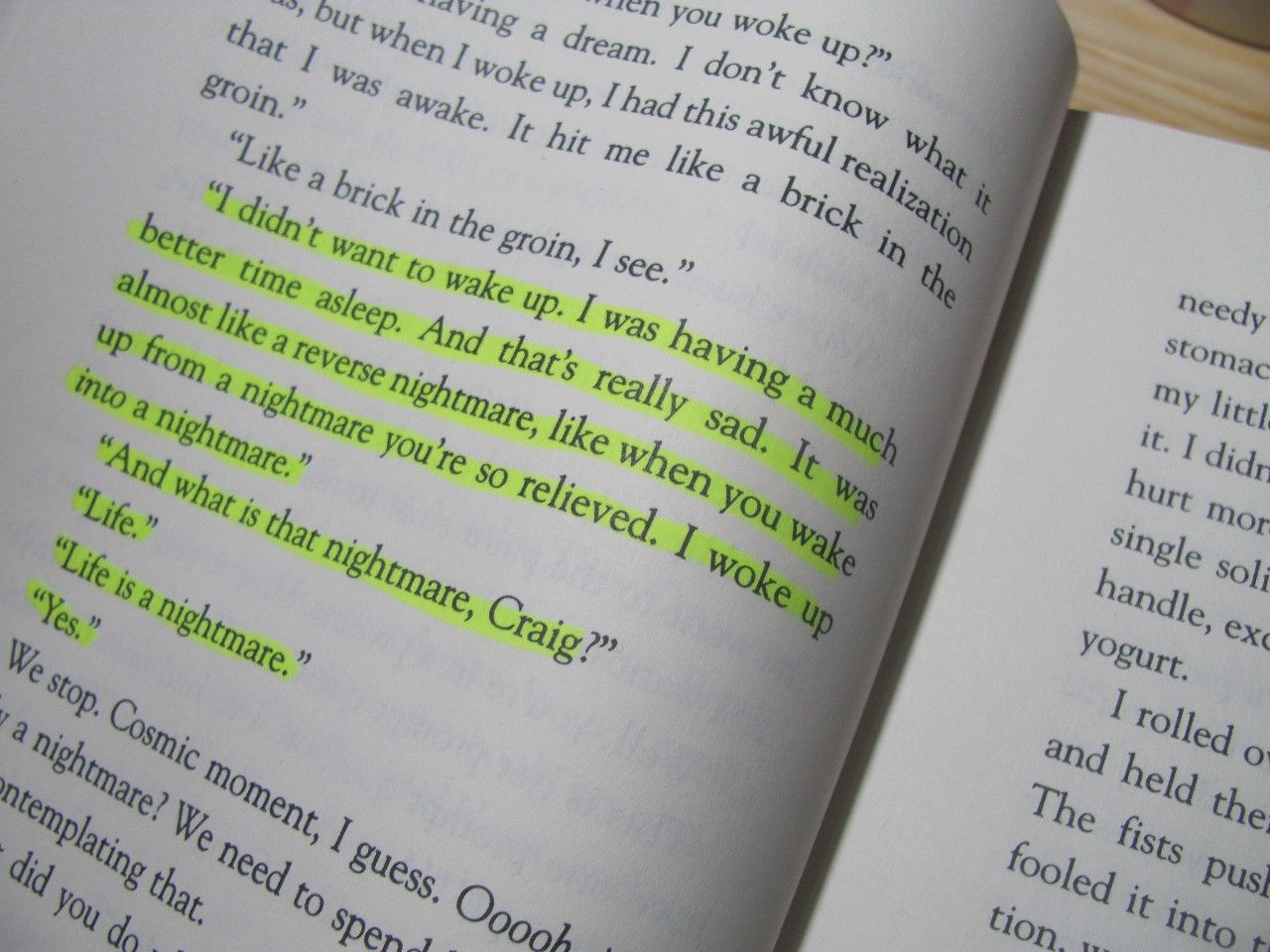 It S Kind Of A Funny Story Book Quotes Wonderful Words Books Tumblr