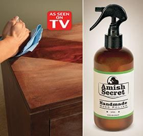 Amish Secret Harriet Carter Wood Polish See On Tv Natural Cleaning Products