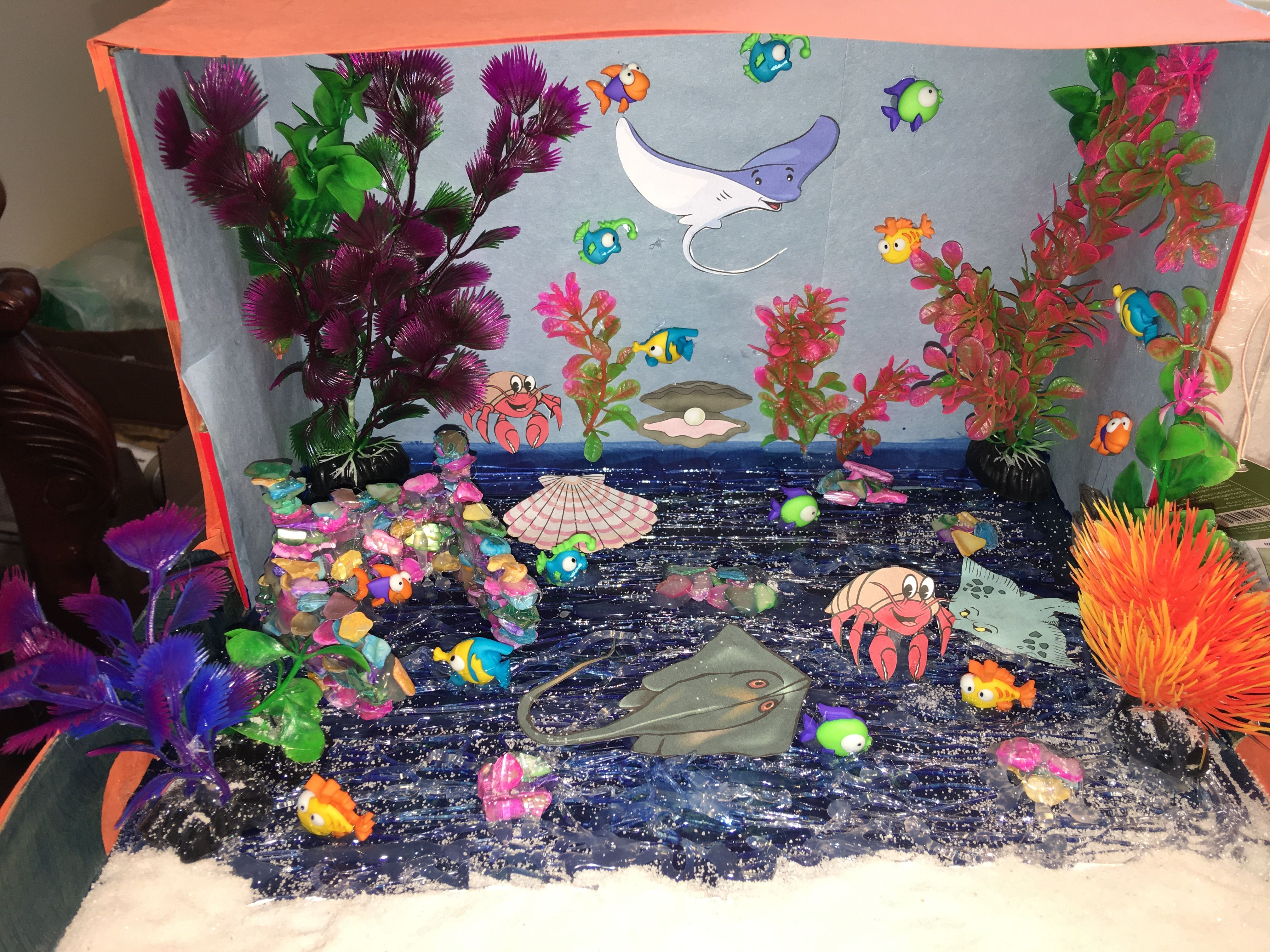 Kids Diorama With Details: Diorama Kids, Diorama