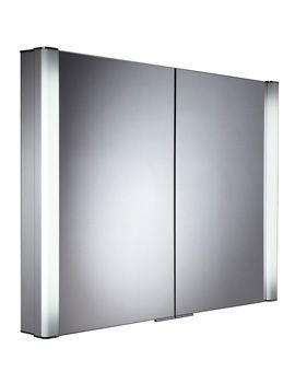 Image Of Roper Rhodes Perception Recessed Illuminated Cabinet 1000mm Pe1000 Width 100 Illuminated Bathroom Cabinets Mirror Cabinets Bathroom Mirror Cabinet