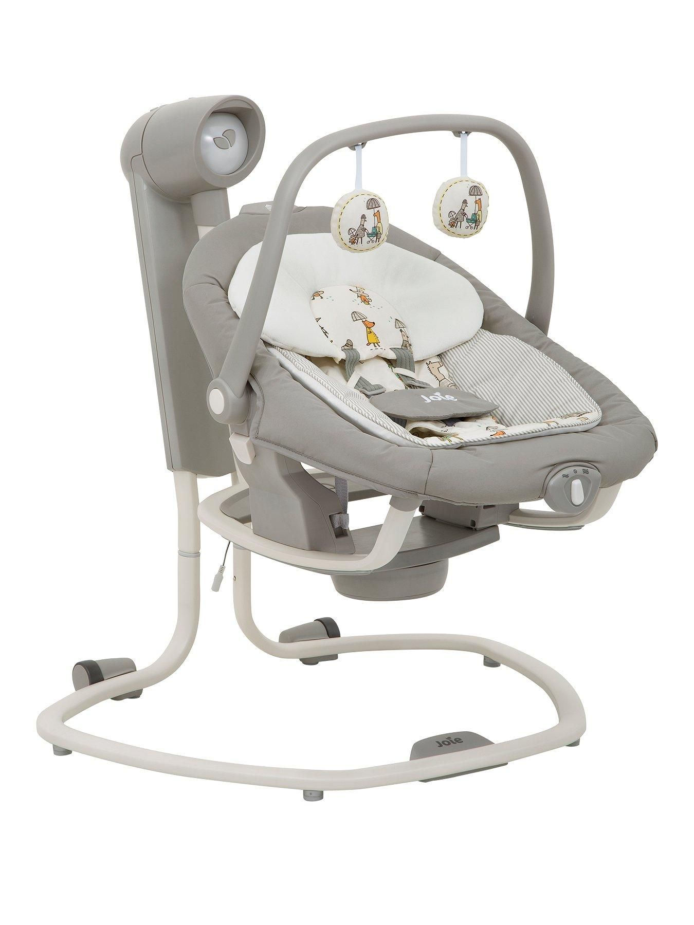 Joie Baby Swing Rocker Joie Serina 2 In 1 Swing In The Rain In One Colour