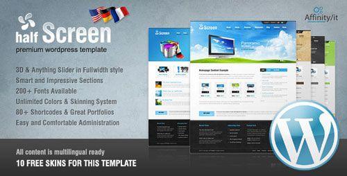 Download Halfscreen Premium Corporate Portfolio WordPress Theme - http://wordpressthemes.me/download-halfscreen-premium-corporate-portfolio-wordpress-theme/
