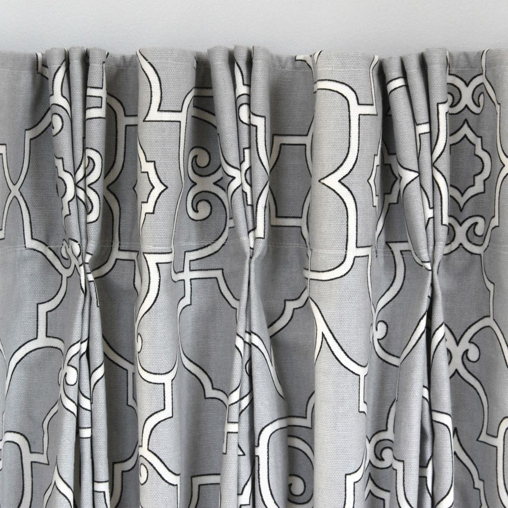 Pinch Pleat Or French Pleated Curtains May Look