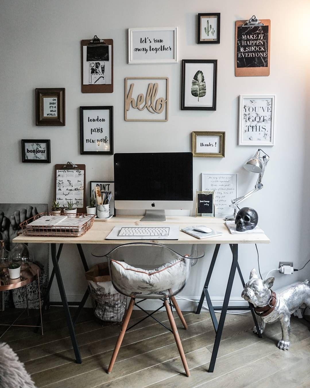 arbeitsplatz interior workspace pinterest buero arbeitszimmer und arbeitsplatz. Black Bedroom Furniture Sets. Home Design Ideas