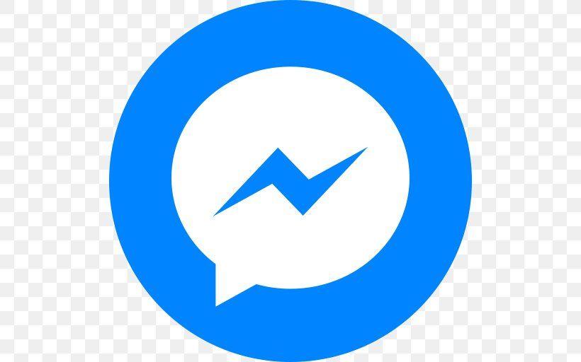 Circle social facebook messenger logo logo facebook