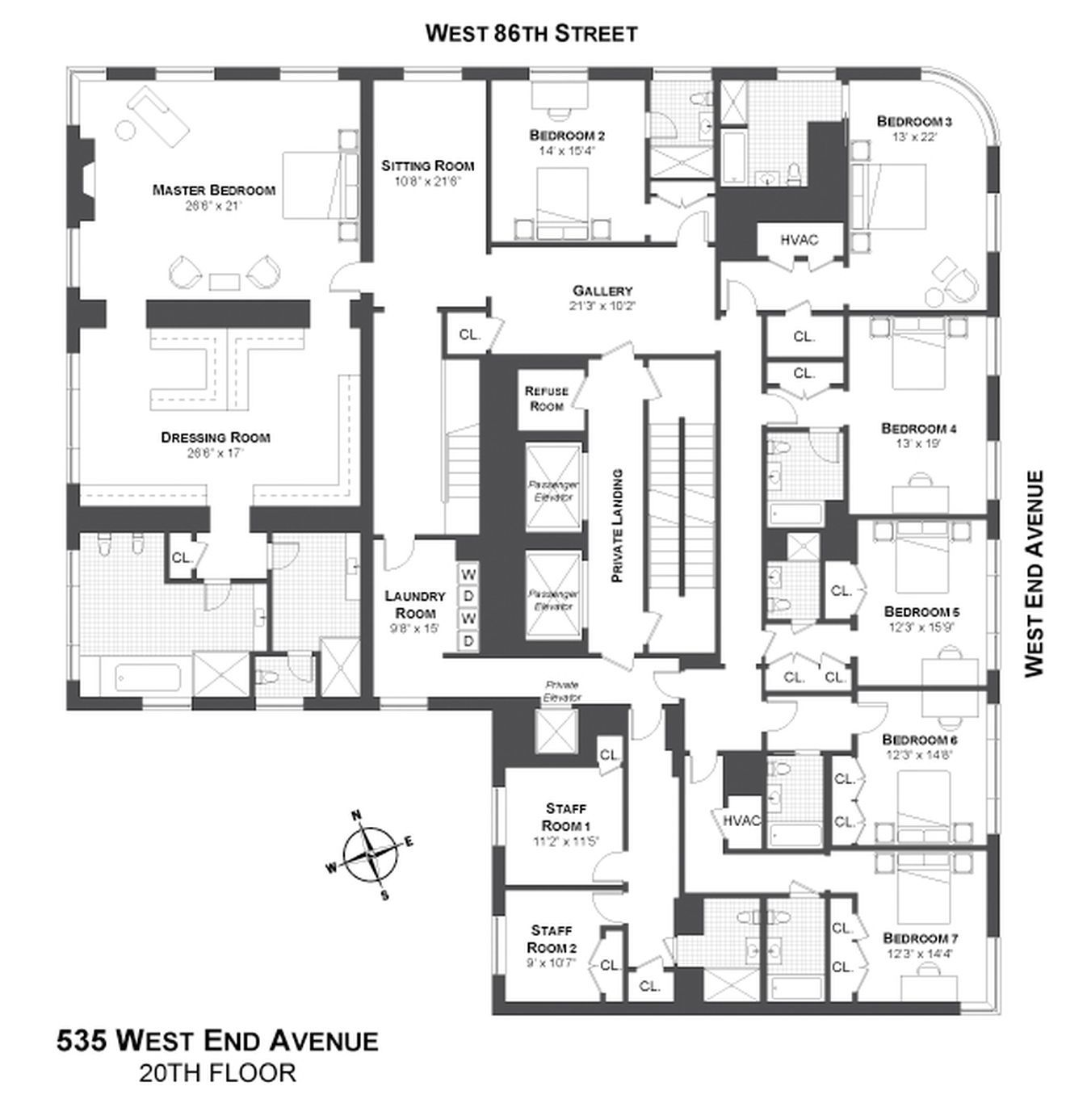 West End Avenue's $37.5M Megapenthouse Splits In Two