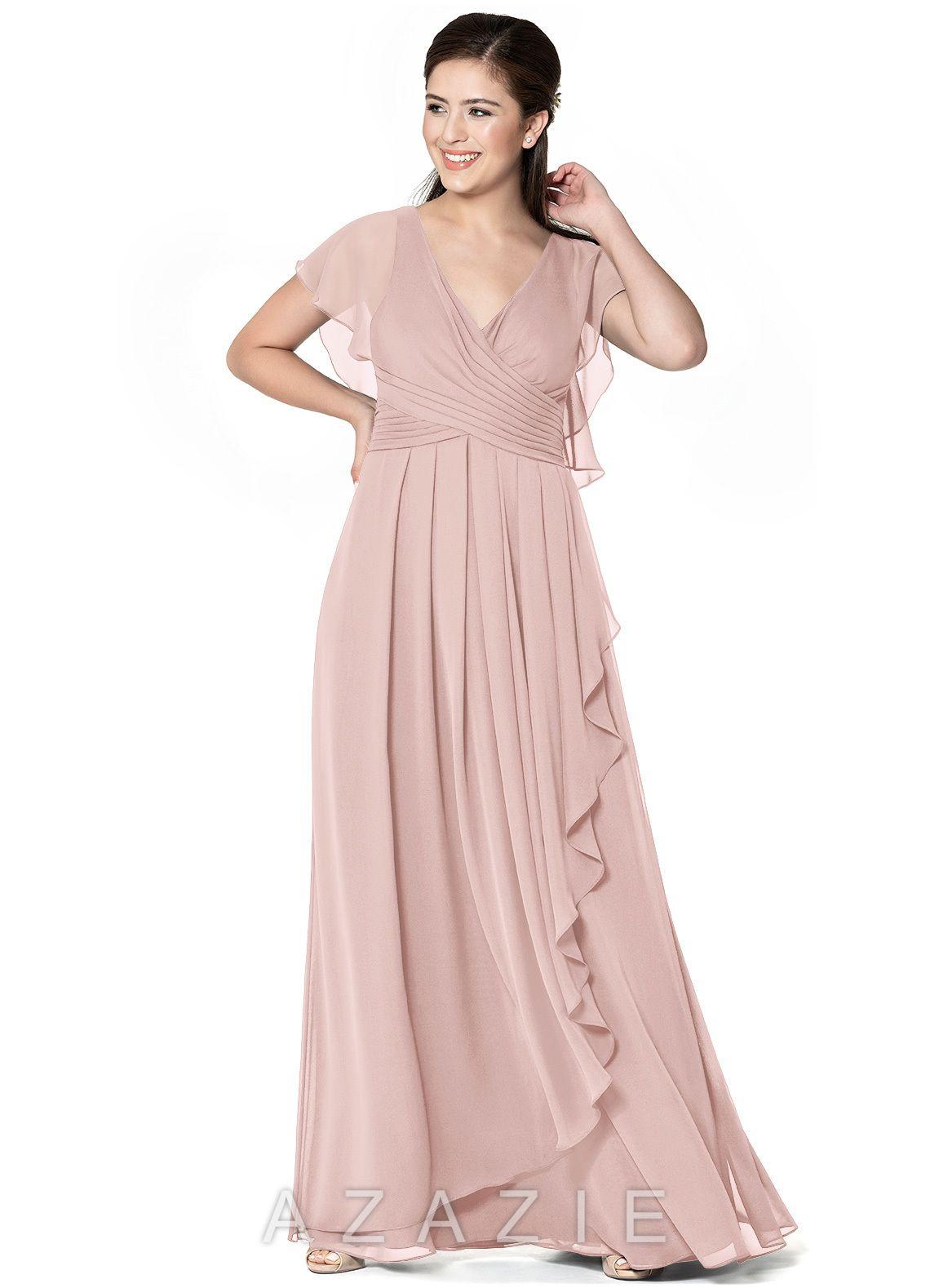 Azazie esme bridesmaid dress vintage mauve azazie