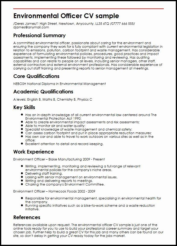 23 Environmental Services Job Description Resume in 2020