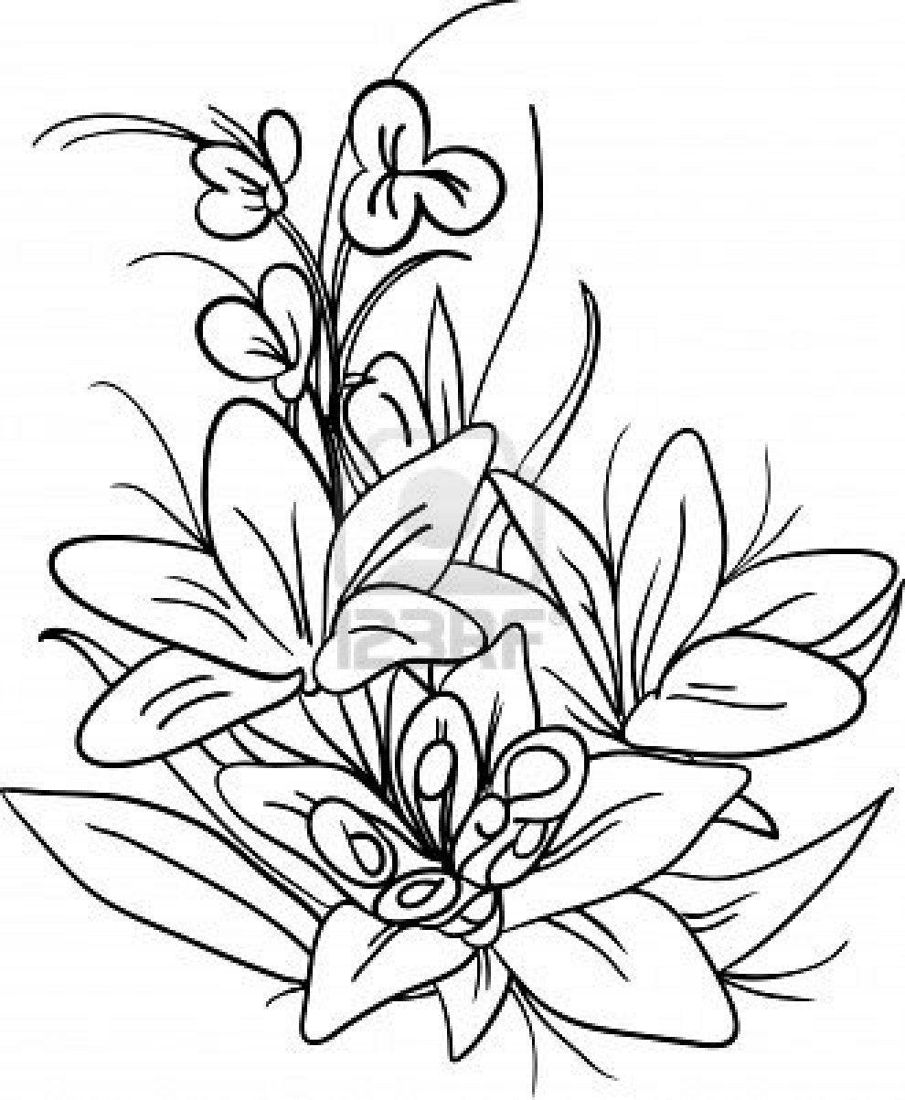 Flores para pintar pintar im genes pintura sobre tela - Dibujos para pintar sobre tela ...