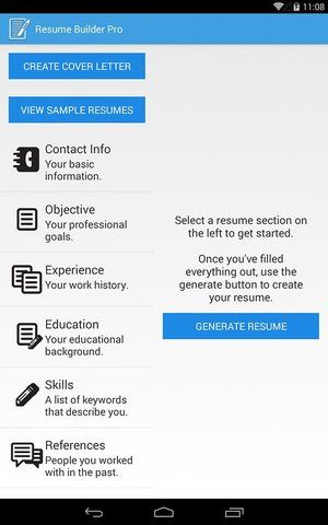 The Top 7 Apps for Your Job Search Social Tools and Apps - resume builder app for android