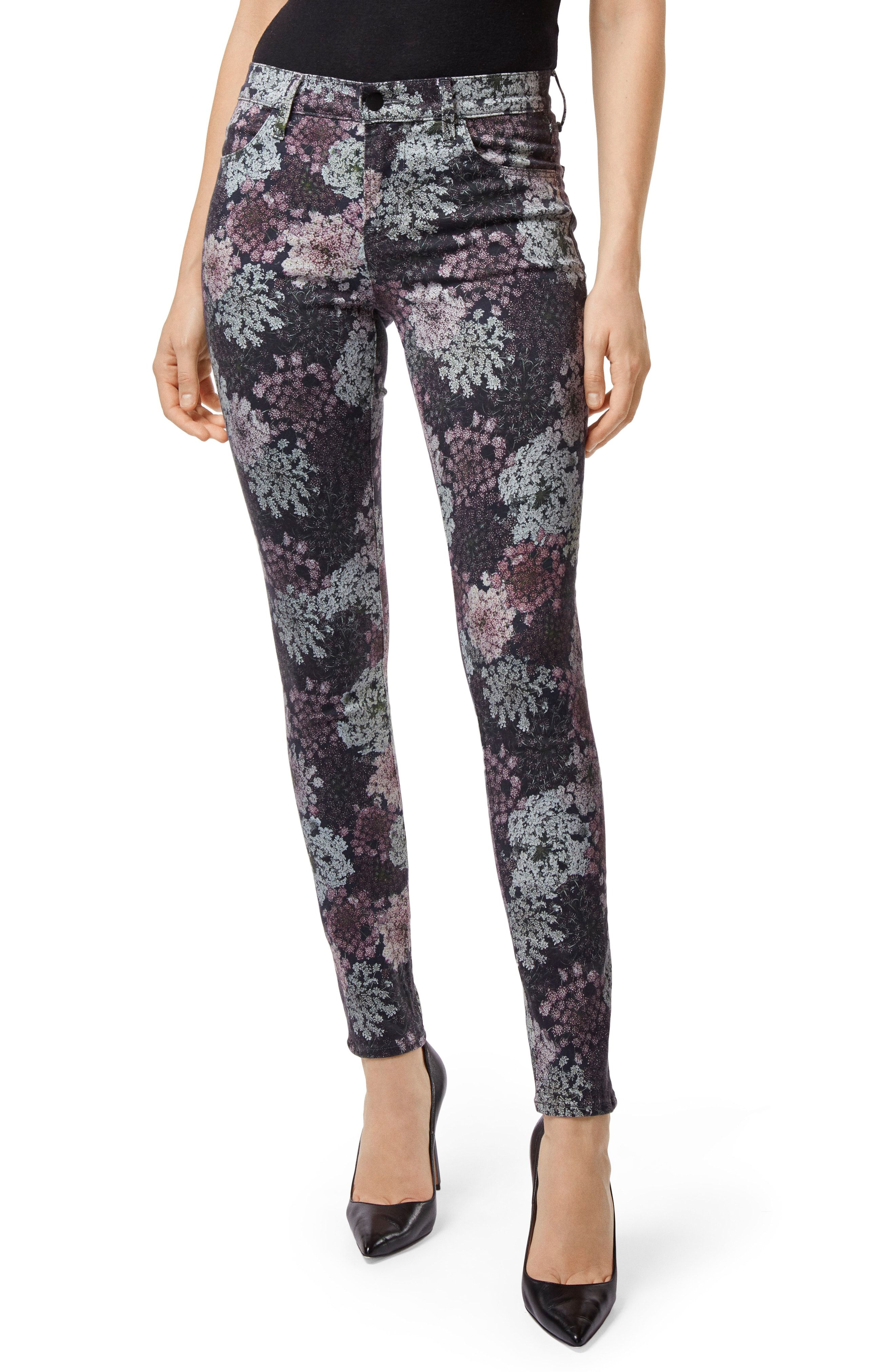 9b6feecf2405 J Brand 620 Floral Super Skinny Jeans available at  Nordstrom ...
