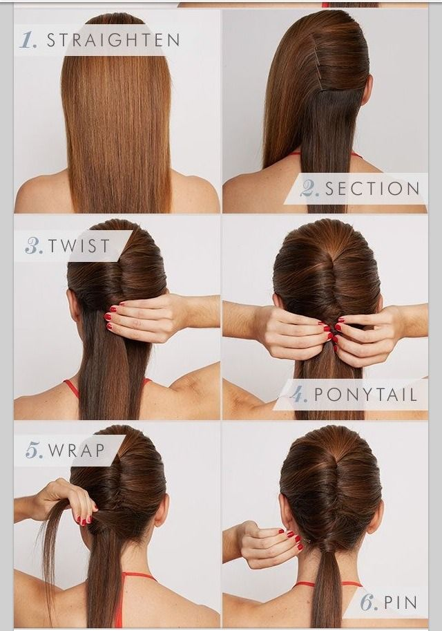 Easy And Fast Hair Style Hair Styles Office Hairstyles Long Hair Styles