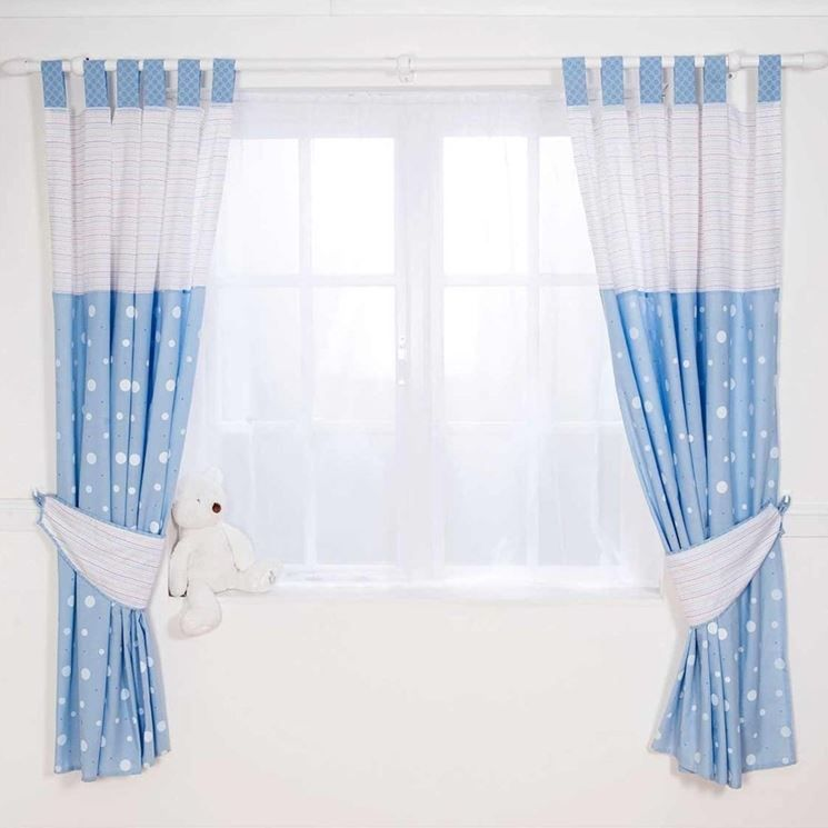 Blue Curtains Boys Bedroom Kids Ideas