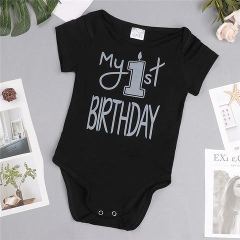 5f16c6e2541f iEFiEL Short Sleeve newborn infant baby boy girls Toddle My 1st ...