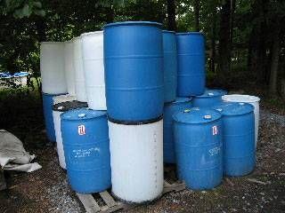 Plastic 55 gallon barrels   55 gallon, Plastic barrels for ...