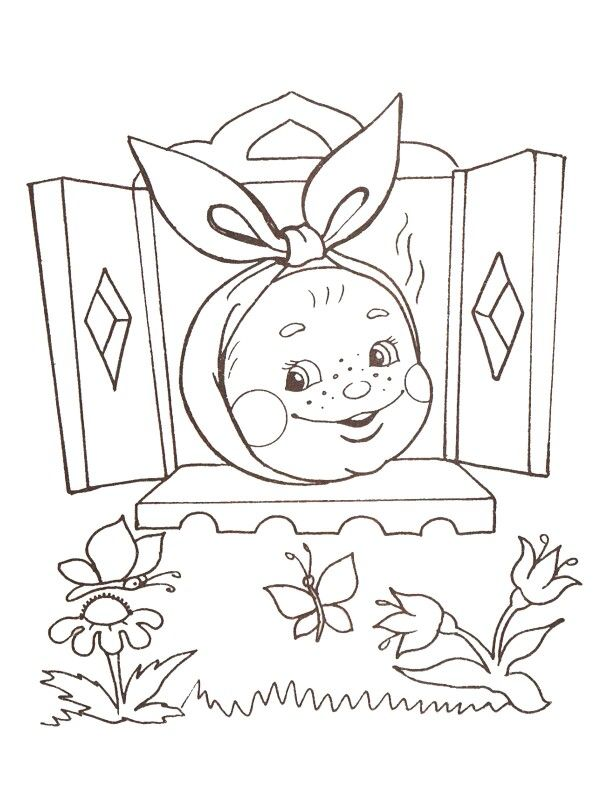 russian folk art coloring pages - photo#39