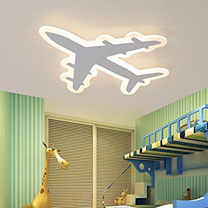 Pilotenzimmer Led Deckenleuchte Flugzeug Flugzeuglampe Fur Das Kinderzimmer Eines Piloten Deckenlampe Flugz Kinder Zimmer Lampen Wohnzimmer Kinderzimmer