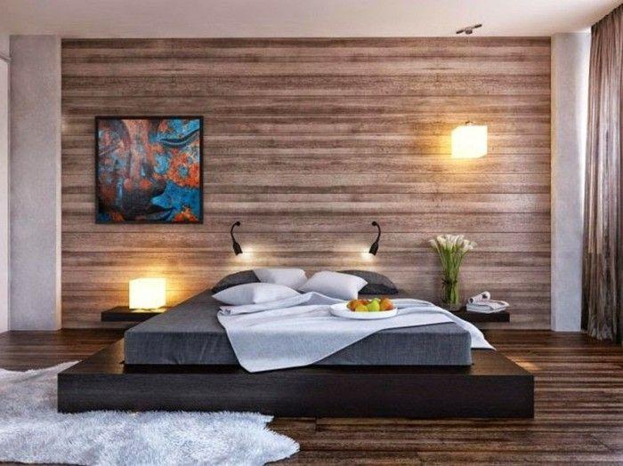 50 Beruhigende Ideen Fur Schlafzimmer Wandgestaltung Schlafzimmer