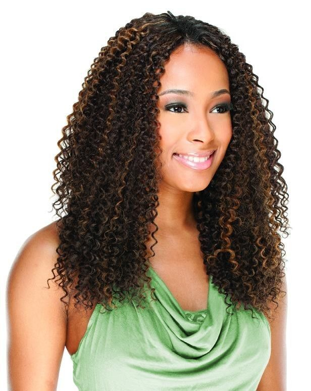 Brazilian Jerry Bundle Curl 4pcs By Freetress Equal Synthetic Hair