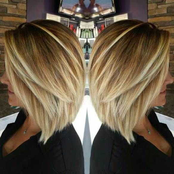 Image Result For Medium Length Bob Hairstyle With Layers Thin Hair
