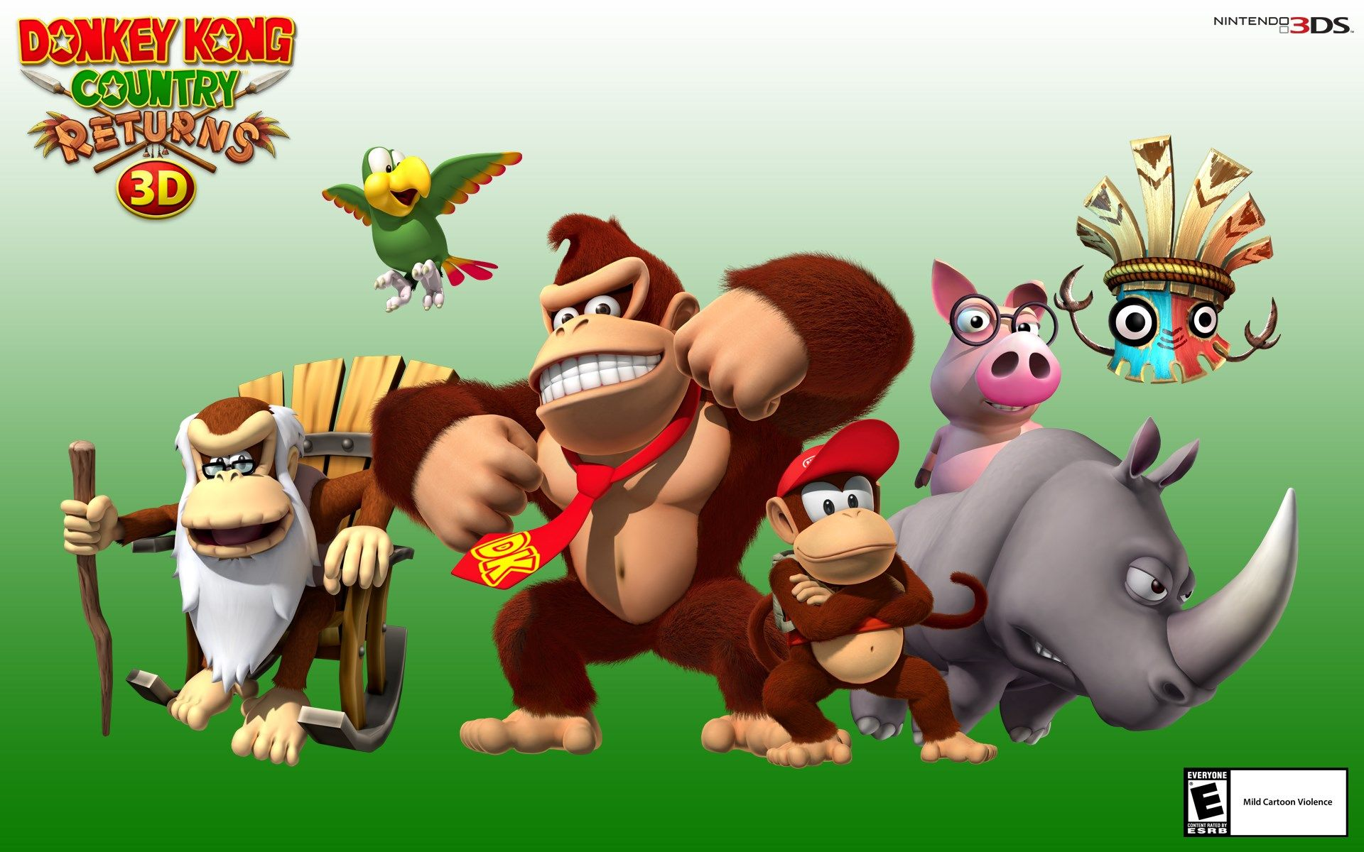 1518690 Widescreen Wallpapers Donkey Kong Country Returns 3d
