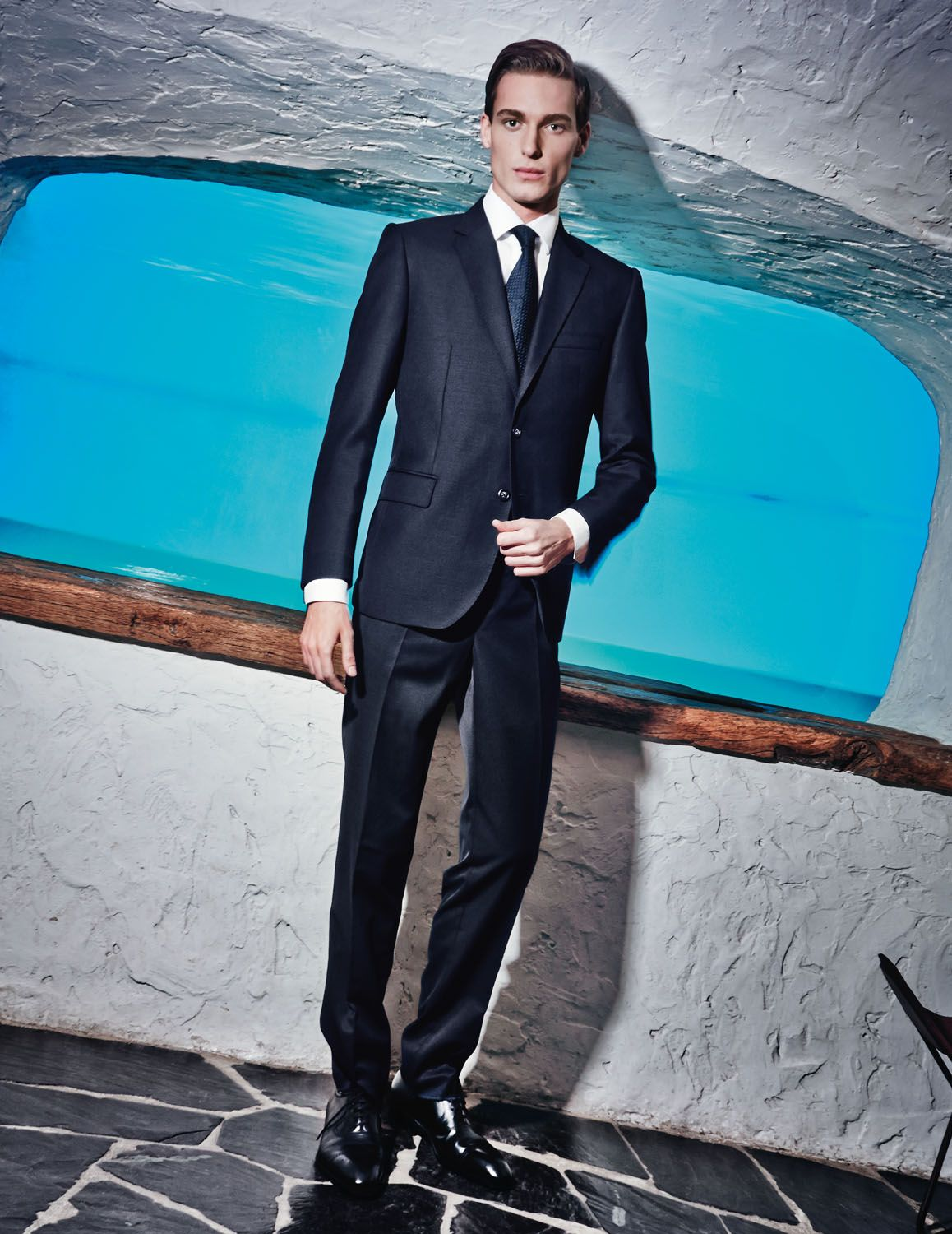 Nikola Jovanovic Fronts Guy Laroche Campaign | Guy laroche and Sharp ...