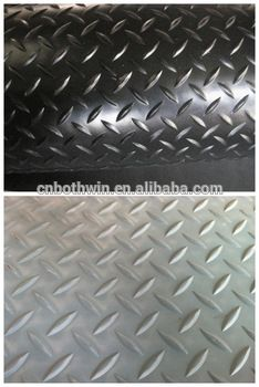 Diamond Plate Rubber Rolls In China