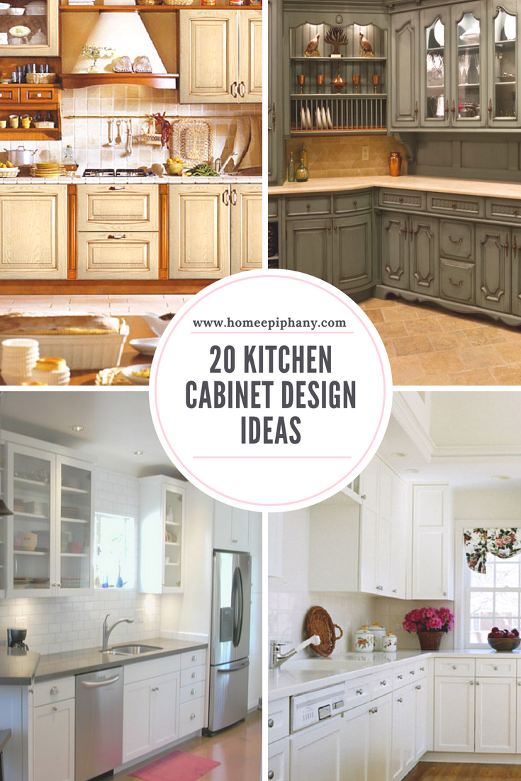 20 Kitchen Cabinet Design Ideas Kitchen Cabinet Design Kitchen