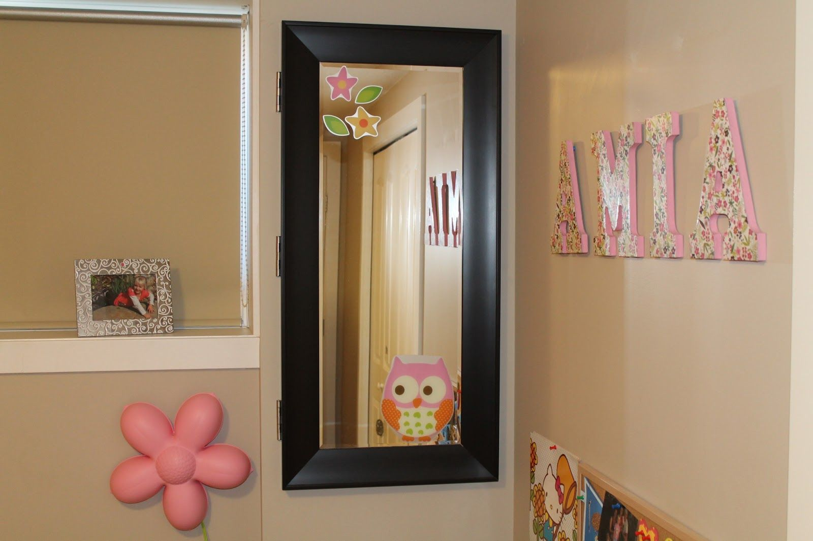 Electrical Panel cover - a framed mirror on hinges - attractive and  functional! Basement Remodeling