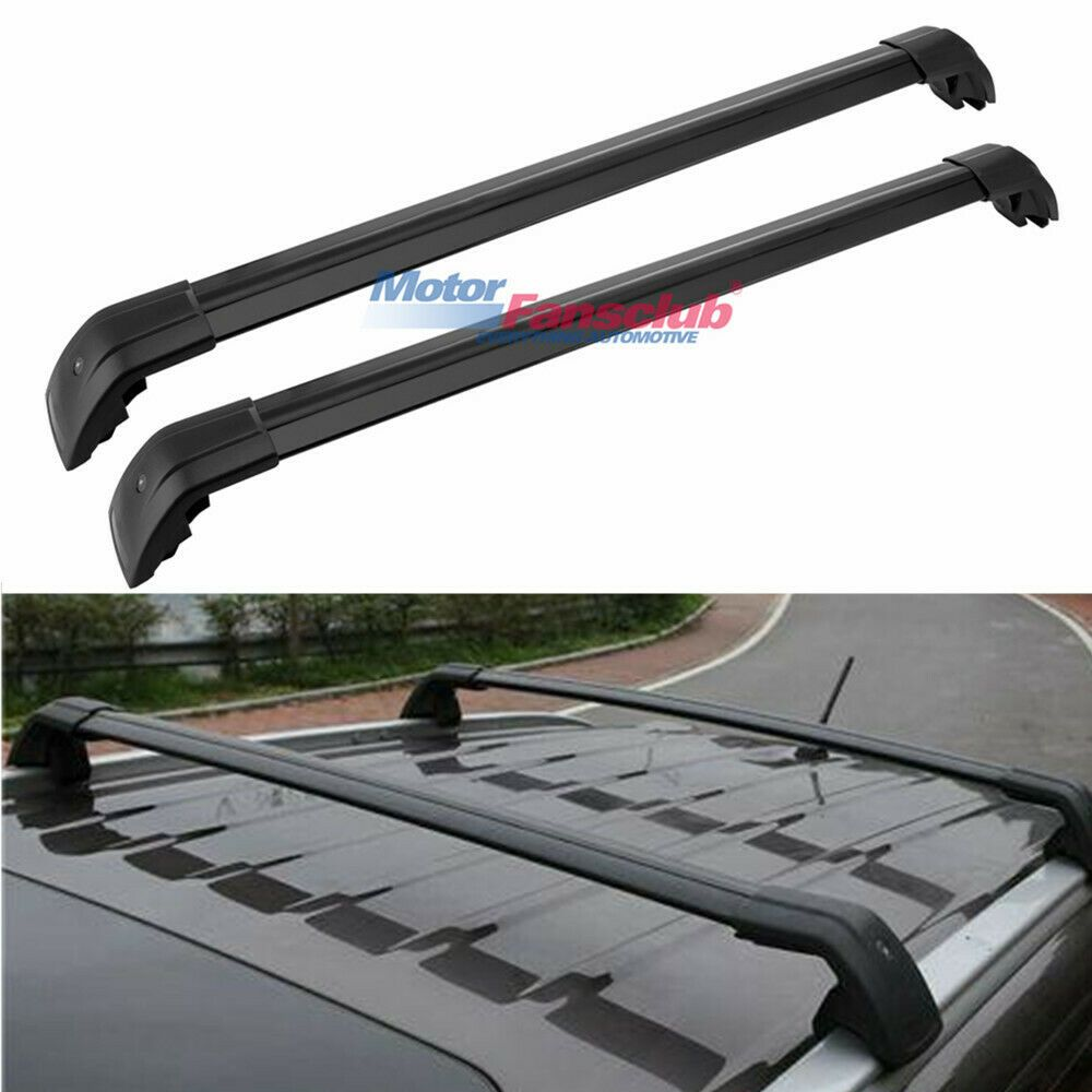 Sponsored Ebay Locking Top Roof Racks Rails Cross Bars Cross Black For Audi Q7 4l 2006 2015 Audi Q7 Roof Racks Audi