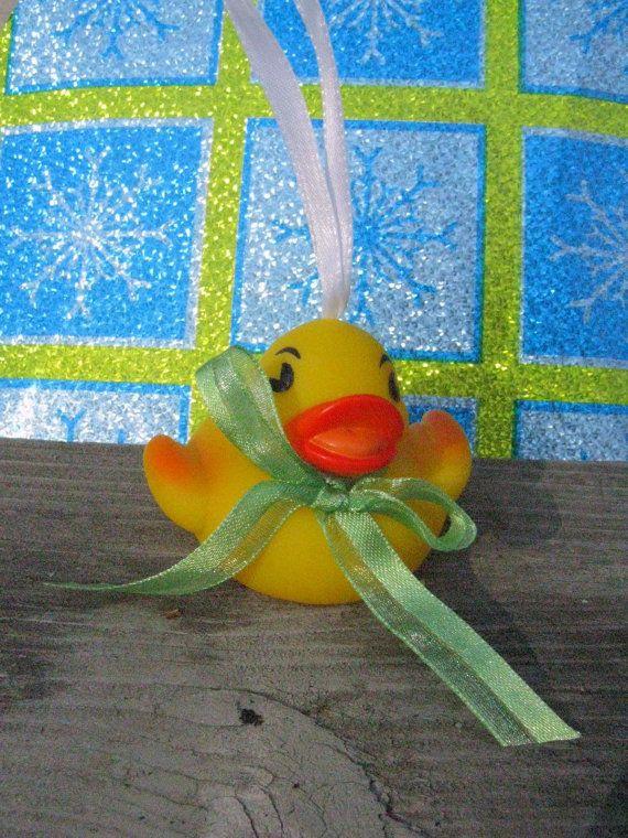 Rubber ducky Christmas Ornament