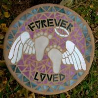Memorial Garden Stepping Stone- so beautiful