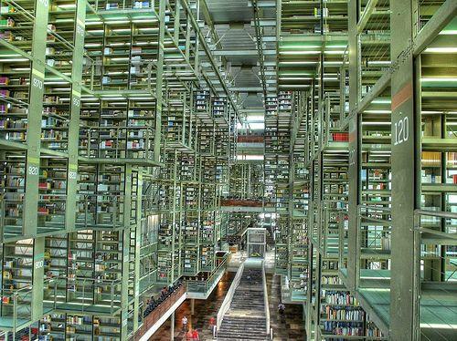 Vista De La Biblioteca Vasconcelos Jose Vasconcelos Library