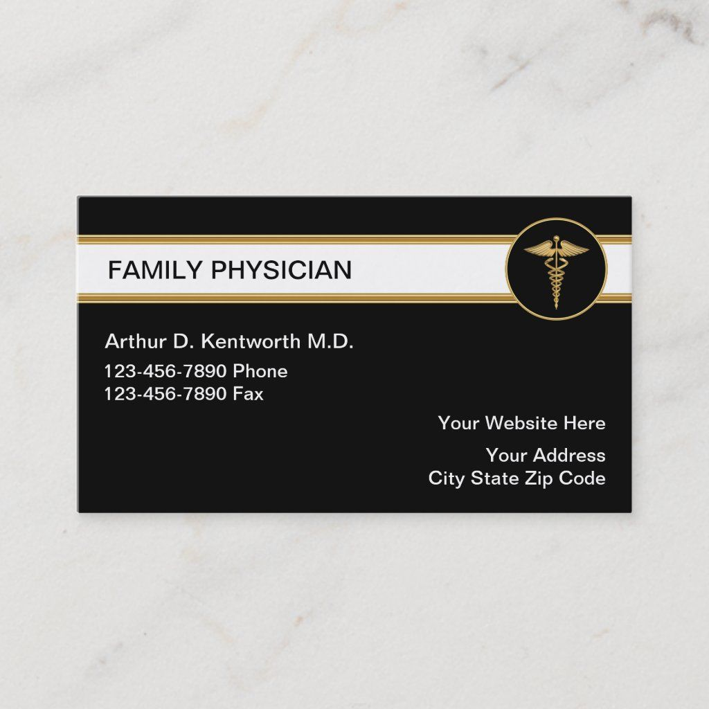Family Doctor Business Cards Zazzle Com Psychologist Business Card Doctor Business Cards Personal Business Cards