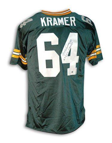 the best attitude afd23 274f9 Jerry Kramer Green Bay Packers Replica Jerseys | Cool ...