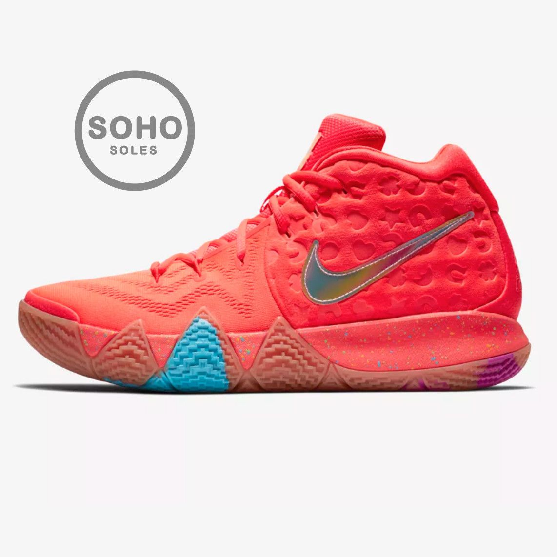 5049bcdb1d5 Details about Kyrie 4 Lucky Charms Cereal Pack Men   GS Size 4-15 ...