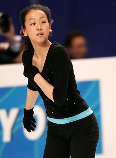 【画像】浅田真央 / 世界フィギュアスケート選手権大会 公式練習