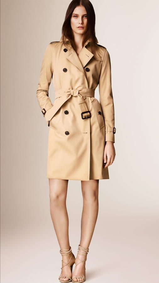 2fc9969dff30 Burberry The Kensington -long Heritage Trench Coat