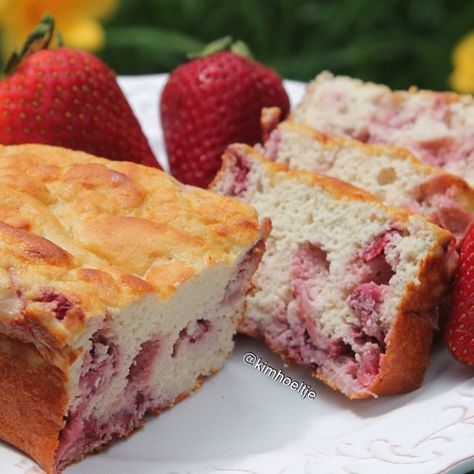 Perfect for any time of day! Thanks Kim H. for this incredible Strawberry Protein Bread recipe!