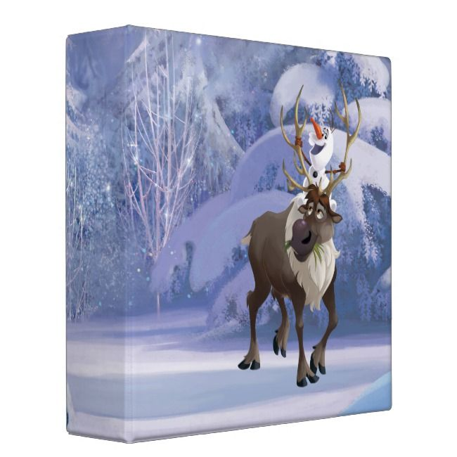 Olaf Sitting On Sven Binder