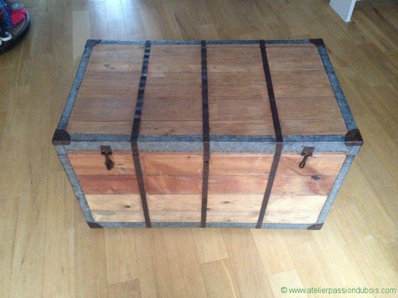 Restaurer vieux coffre en bois Restauration d\u0027un vieux coffre en