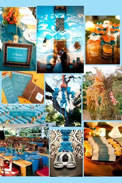 Mexican Wedding Theme Turquoise Loveeee The Colors 3
