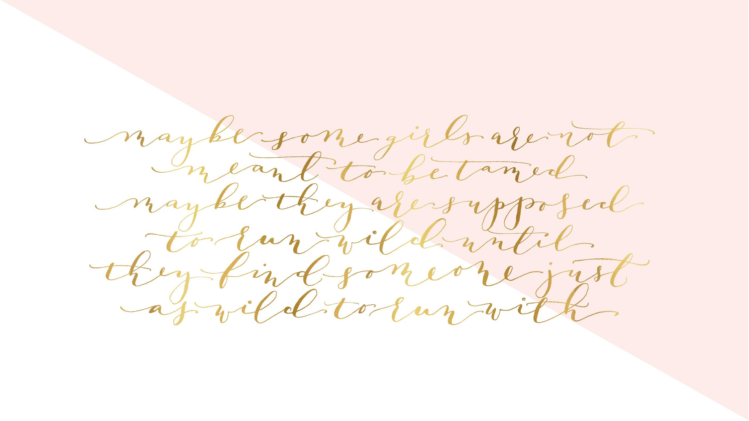 Free Calligraphy Desktop Wallpaper Lark Linen Rose Gold Wallpaper Gold Wallpaper Gold Wallpaper Cute