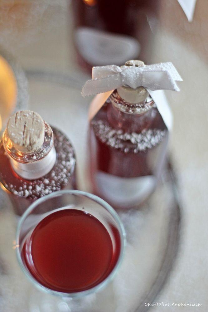 Glühweinlikör, Likör, selbstgemachter Likör, Geschenk aus der - geschenk aus der küche