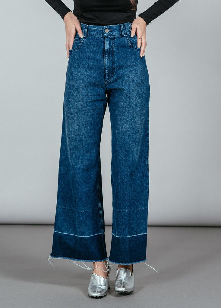REFINED - Legion Wide Leg Denim Pant I Rachel Comey