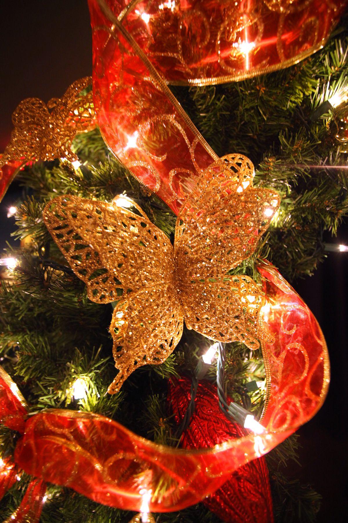 Butterflies for christmas providence festival of trees