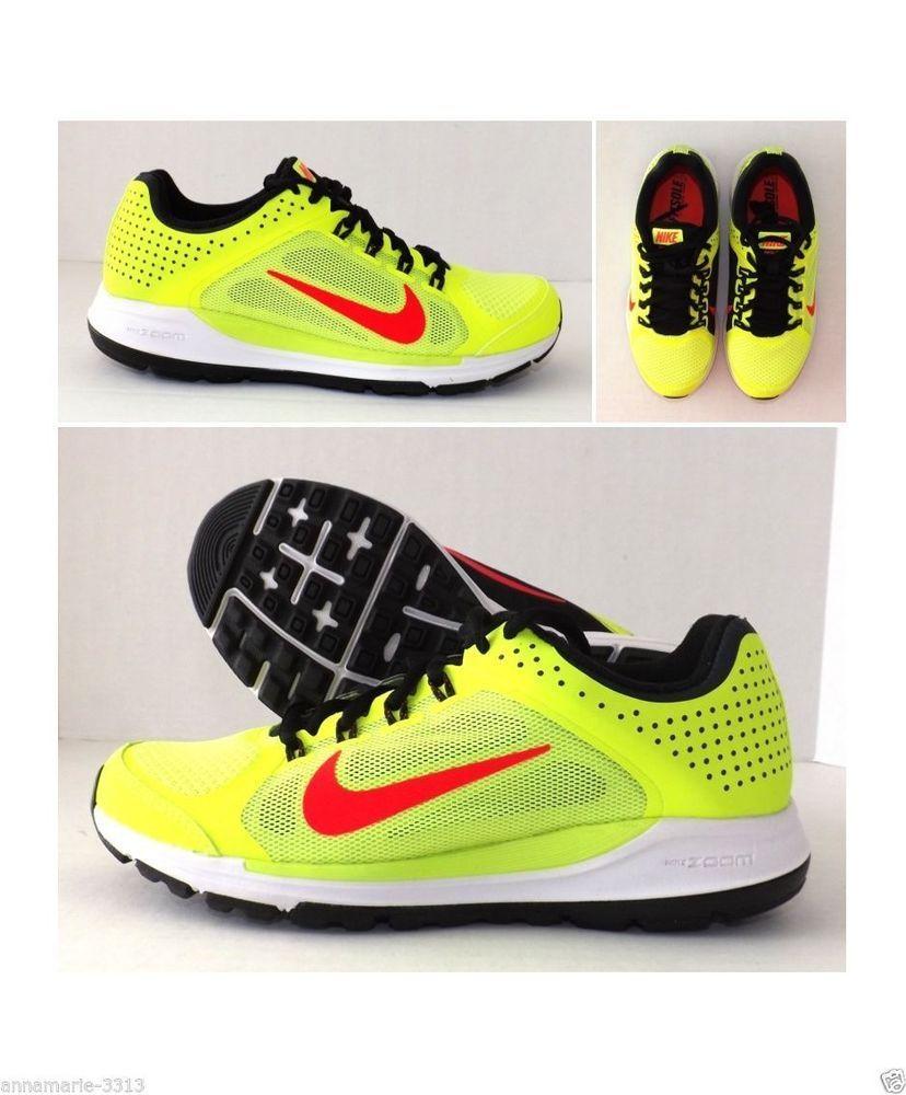 d628502a9df4 WOMEN S NIKE ZOOM ELITE +6 Running Shoes Sneakers Size 7.5 Volt New in Box   Nike  RunningCrossTraining